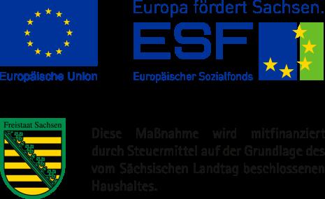 Förderung von aus dem Europäischen Sozialfonds mitfinanziertem Vorhaben
